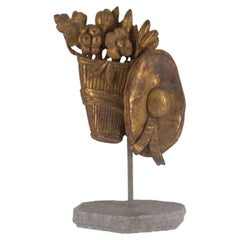 18th Century Carved Fragment on Stand