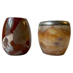 Vintage Italian Marble Vases
