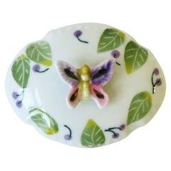 Butterfly Porcelain Jewelry Box