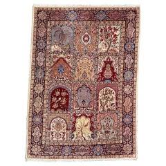 Very Pretty Antique Tabriz Rug