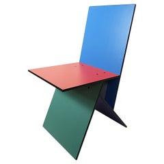 Postmodern Vilbert Chair Designed by Verner Panton for Ikea