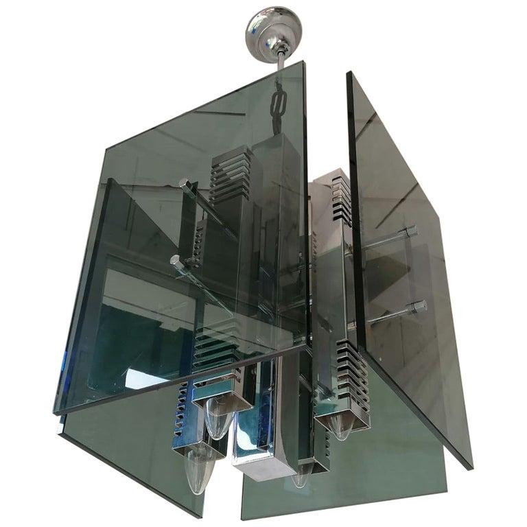 Gaetano Sciolari Pendant Lamp Chandelier For Sale