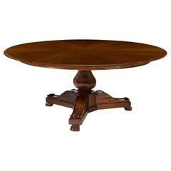 French Empire Style Extension Dining Table