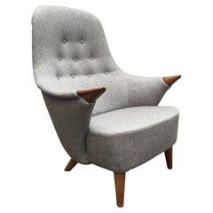 Unknown Rare Danish Midcentury Armchair 1950´s