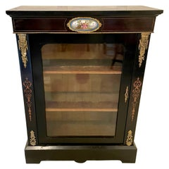 Antique Victorian French Display Cabinet