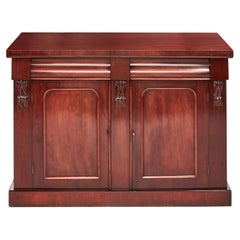 Quality Antique 19th Century Victorian Mahogany Chiffonier