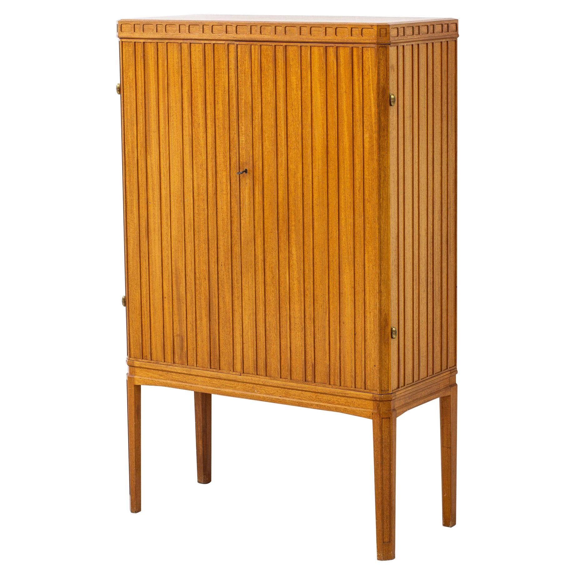 1940s Swedish Modern Cabinet in the Style of Oscar Nilsson
