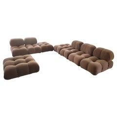 Set of 8 Camaleonda Sittings Designed by Mario Bellini for C&B Italia, 1970
