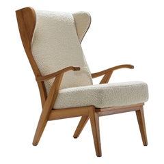 'Wingback' Chair by Danish Cabinetmaker Søren Willadsen, Denmark, 1960s