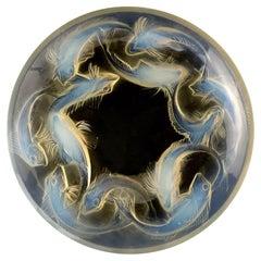 "Rene Lalique Opalescent ""Martigues"" Bowl"