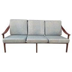1950s Danish Teak Sofa by Arne Hovmand Olsen for Modens Kold