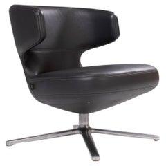 Vitra by Antonio Citterio Petit Repos Leather Chair