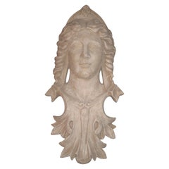 Classical Head Sculpture of Woman