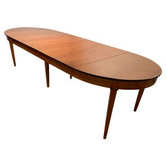 Round Expandable Dining Table, Cherry Wood, France, Paris, circa 1880