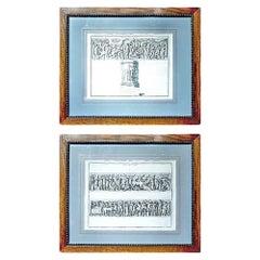 Set of Two European 19th Century Prints
