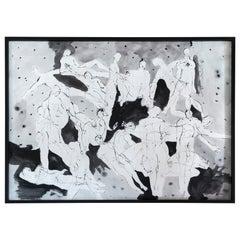 "Alex Loreti ""Untitled 3"" Abstract Decorative Wall Art, Italy, 2020"