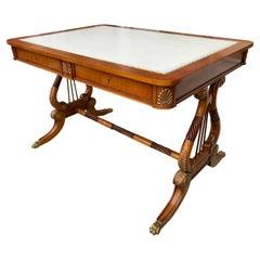 Regency Style Continental Desk