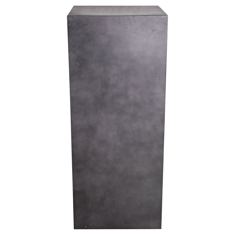 Patina Steel Display Pedestal