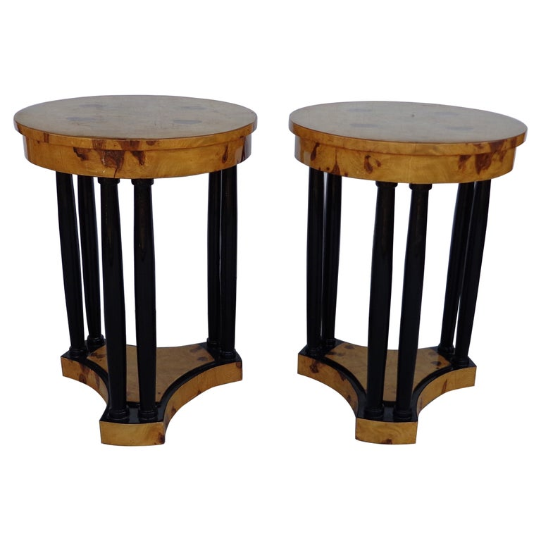 Art Deco Style Side Tables For Sale