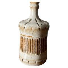 Vintage Studio Crafted Ceramic Vase, circa 1980s