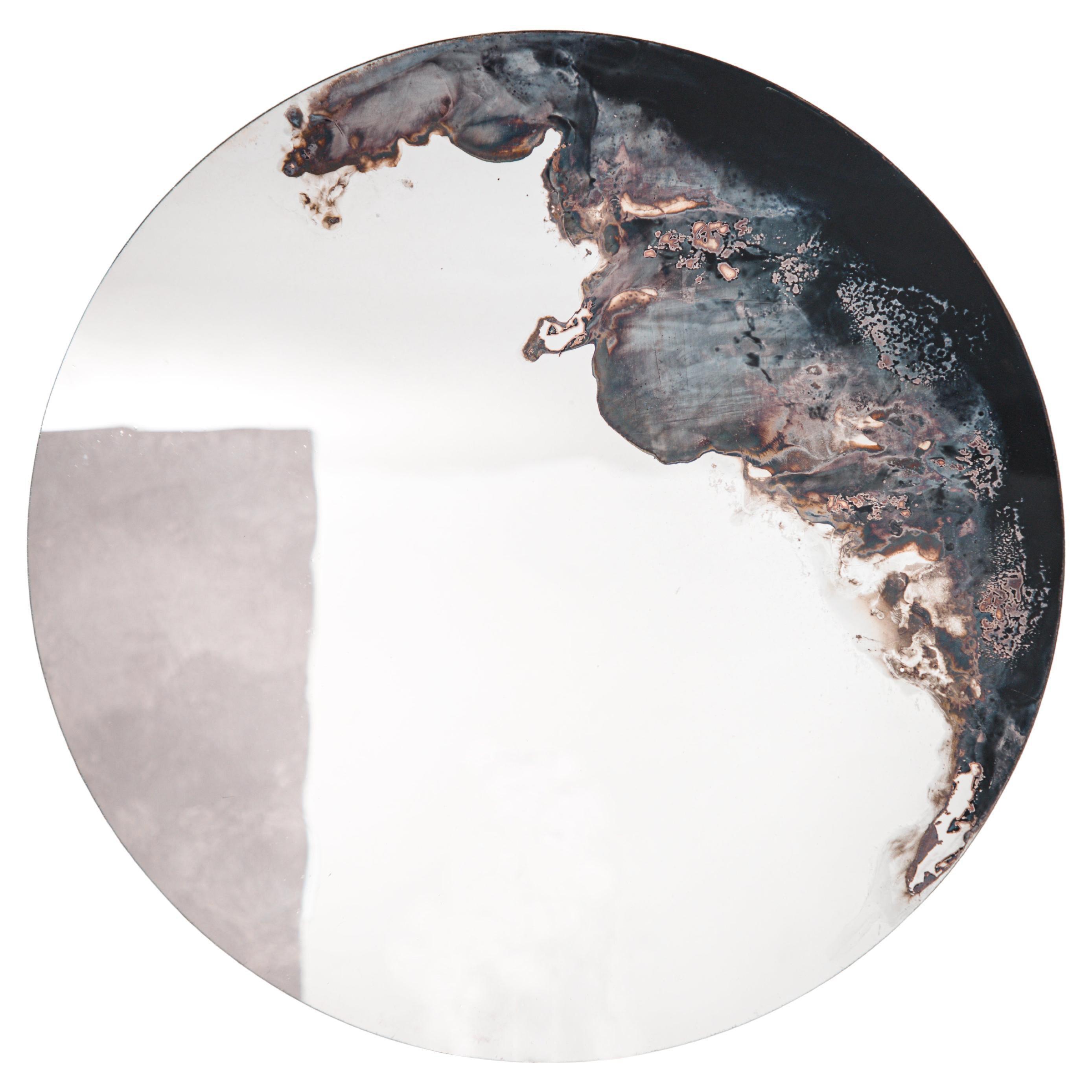 Medium Lava Mirror by Slow Design