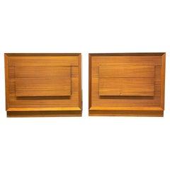Pair Mid-Century Modern Dressers