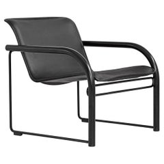 RS48 Lounge Chair in Leather by Robert Schultz for Nienkamper