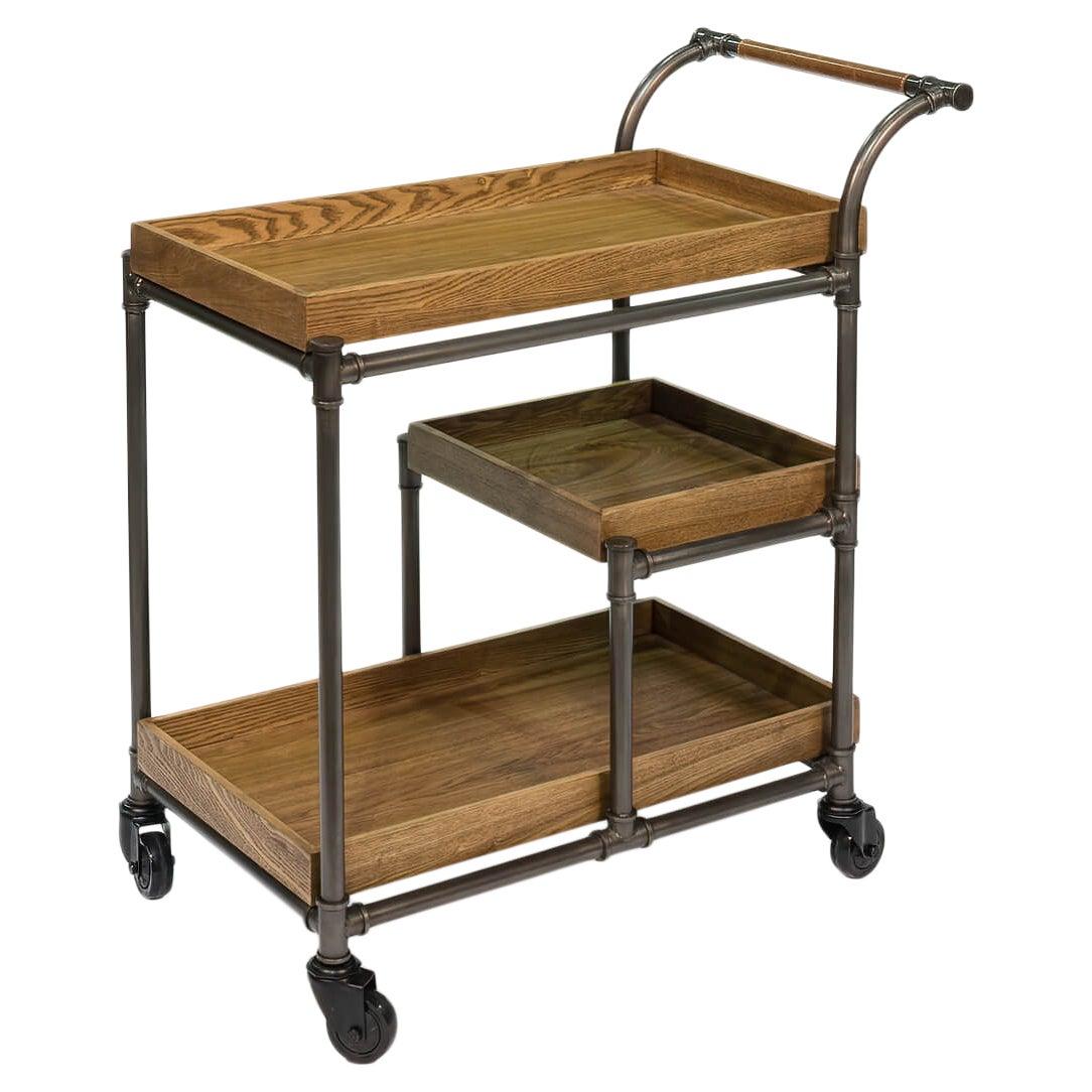 Industrial Bar Cart Trolley
