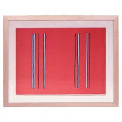 'Lilac' Framed Lithograph by Gene Davis, 1980