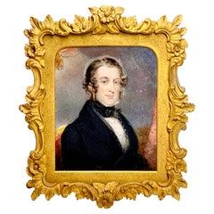 Portrait Miniatures of a Gentleman, Edward William Thomson 'British 1770-1847'