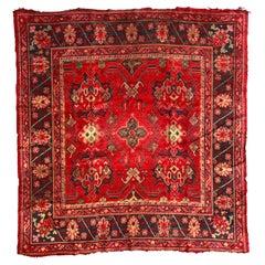 Antique European Oushak Rug