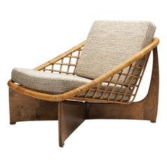 """Rokato"" Lounge Chair by Gebroeders Jonkers Noordwolde The Netherlands 1960s"