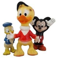 Vintage Walt Disney Pop Sculptures