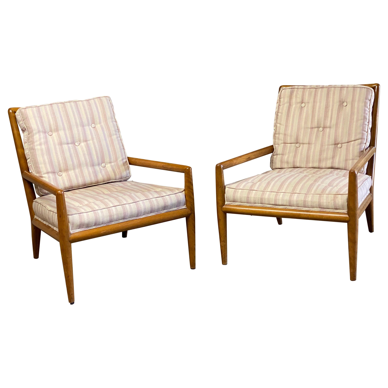 T.H. Robsjohn-Gibbings for Widdicomb Lounge Chairs