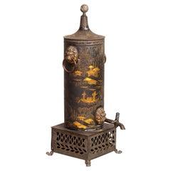 Regency Tole Hot Water Urn