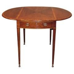 Late 18th Century Sheraton Mahogany Pembroke Table