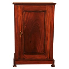 Small 19th Century Double Side Confiturier/ Buffet in Mahogany