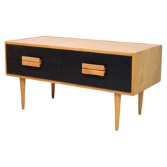 Vintage Chest of Drawers, Czechoslovakia, 1960s