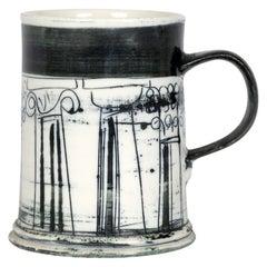 Susan Parkinson Studio Pottery Architectural Tankard
