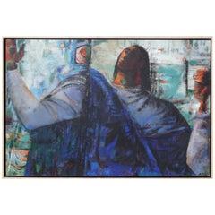 """Margaret Putnam Painting """"Praise"""""""