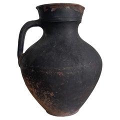 Rustic Antique Clay Vessel