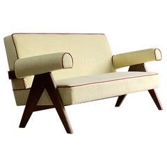 Pierre Jeanneret PJ-010806 'Easy Lounge' Sofa Chandigarh, Circa 1958-59
