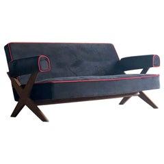 Pierre Jeanneret PJ-010806 'Easy Lounge' Sofa Set 2, Circa 1958-59