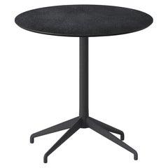 Alis Round Table, Aluminium base and Ceramic Top, by Discipline Lab