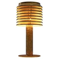 Hans-Agne Jakobsson Table Lamp in Brass