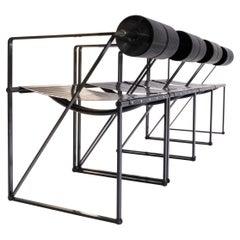 Set of 4 Post-Modern Seconda Armchairs by Mario Botta for Alias, Italy, 1982