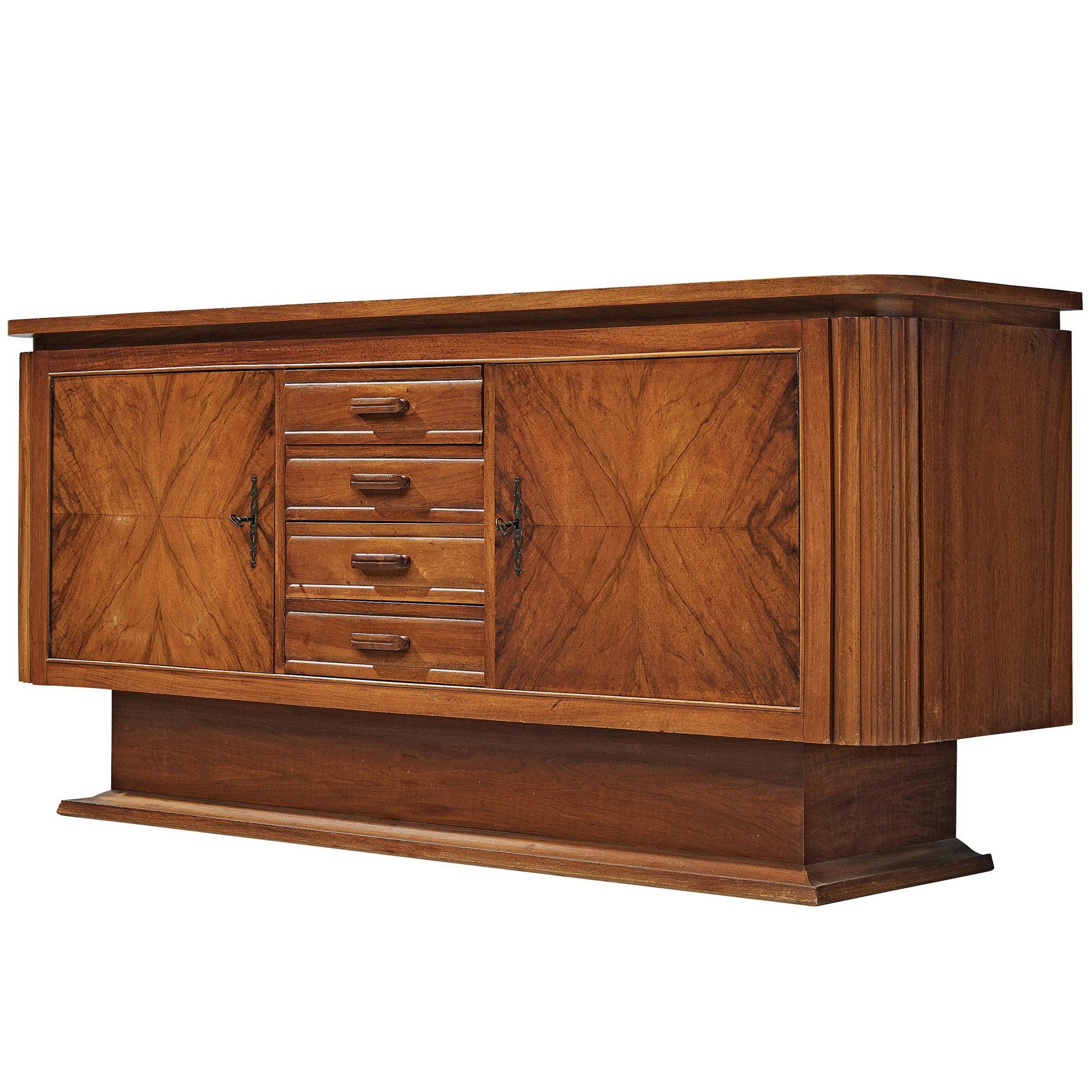 Art Deco Sideboard in Walnut