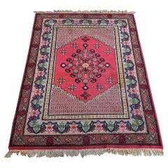 Beautiful Vintage Tunisian kairouan Rug