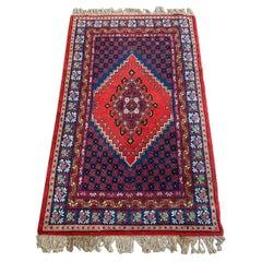 Pretty Vintage Tunisian Rug