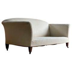 Magnificent Howard & Sons Large Portarlington Sofa Three Seater, Circa 1880